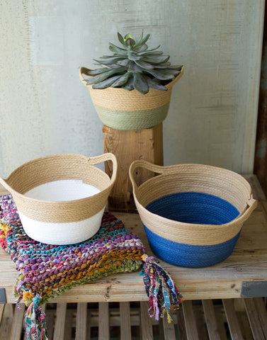 Woven Colored Basket