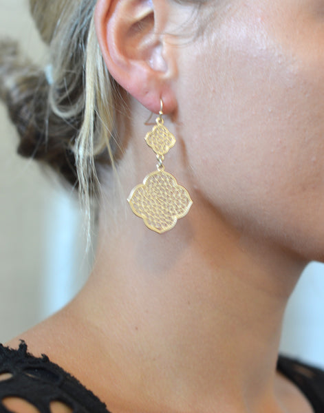 Double Dangle Earrings