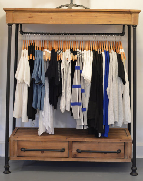 Low Clothier's Rack