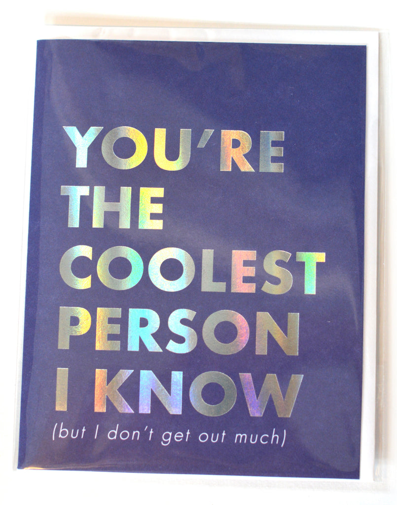 Coolest Person Card