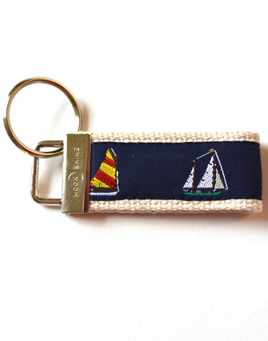 Sailboat Key Chain