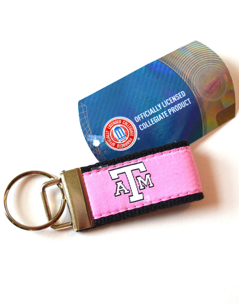 Pink Aggie Key Chain