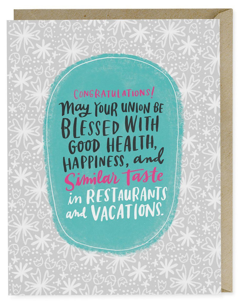 Restaurants Vacations Card