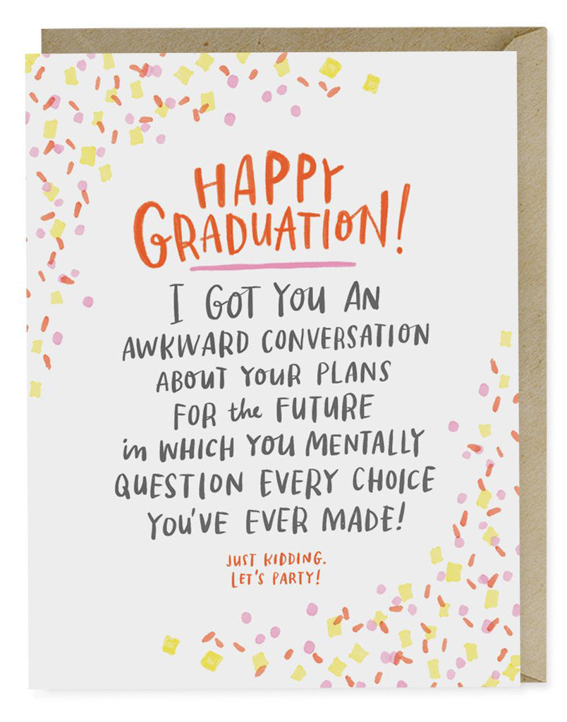 Awkward Conversation Card