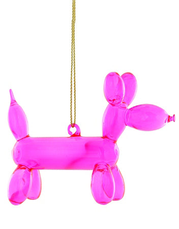 Balloon Pup Ornament