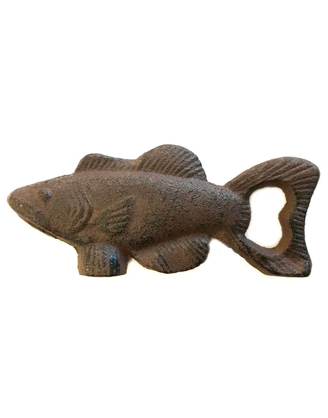 Rust Fish Bottle Opener