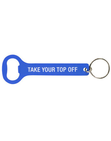 Top Off Keychain Bottle Opener