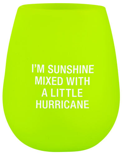 Hurricane Silicone Wine Cup