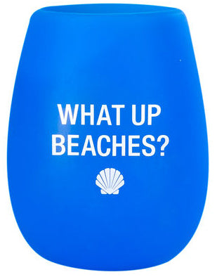 What Up Beaches Wine Cup