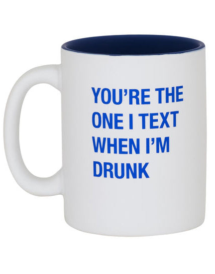 Drunk Text Coffee Mug