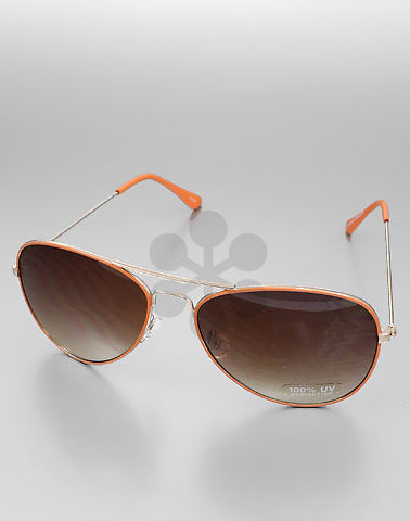 Hello Coral Sunglasses
