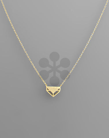 Pent Necklace