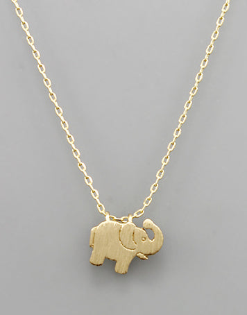 Trunk Up Necklace