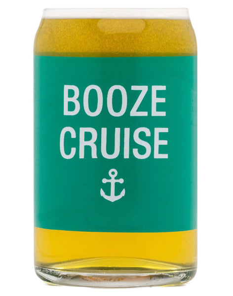 Booze Cruise Beer Glass
