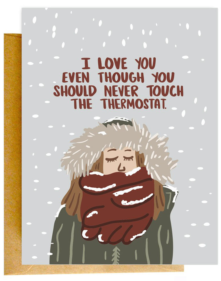 Thermostat Card
