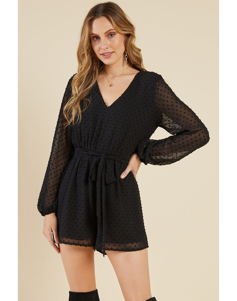 Night Moon Romper