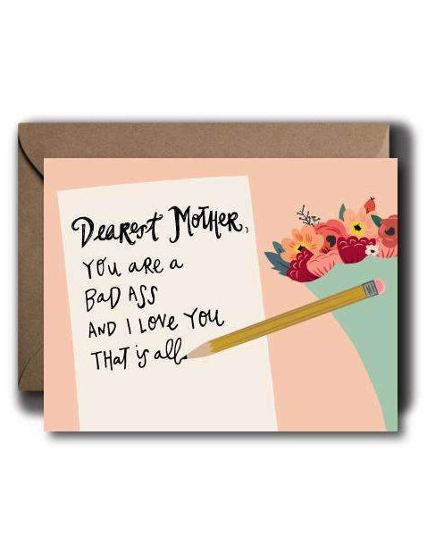 Dearest Mother Card