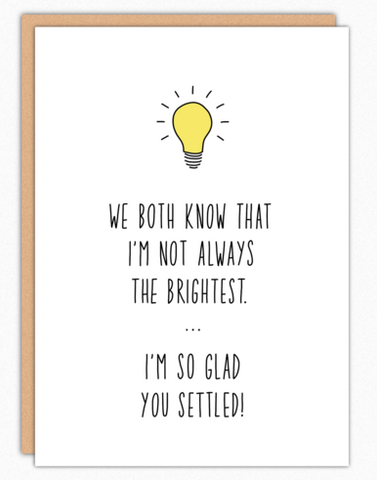 Brightest Settled Card
