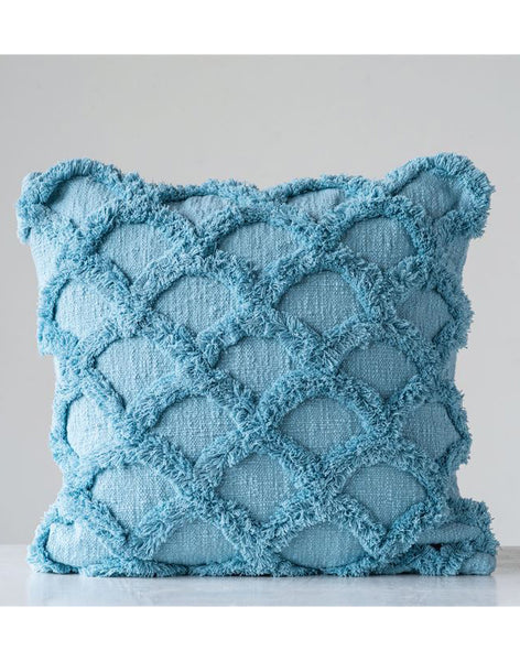 Scalloped Pillow