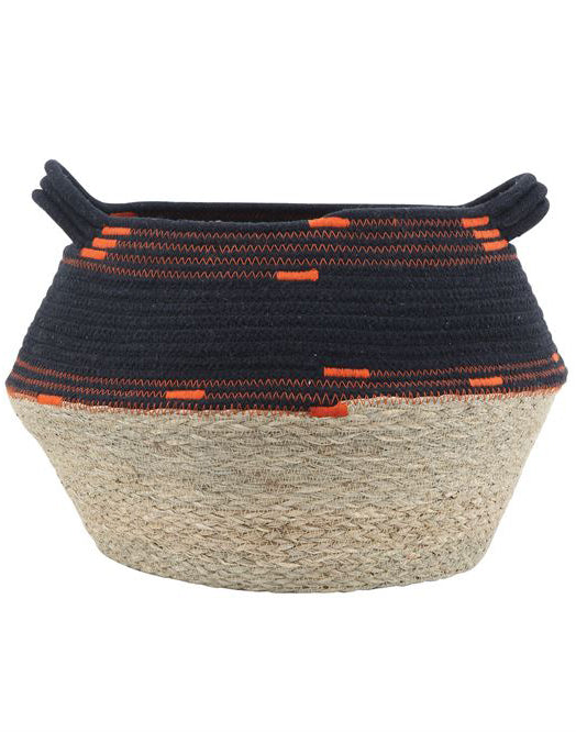 Rope and Woven Basket