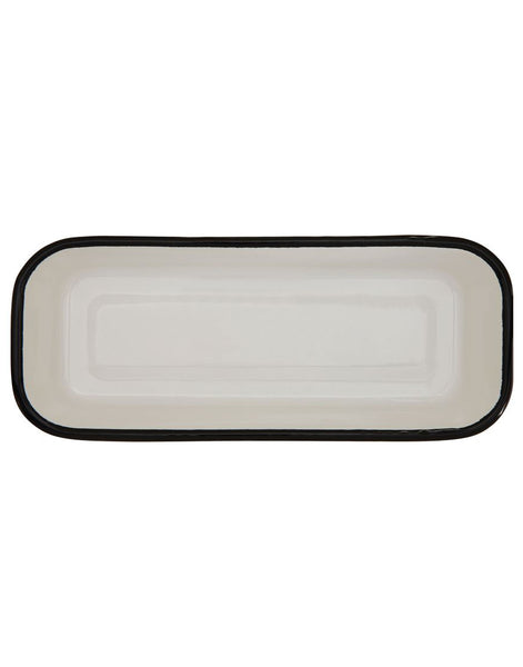Enameled Rectangle Dish