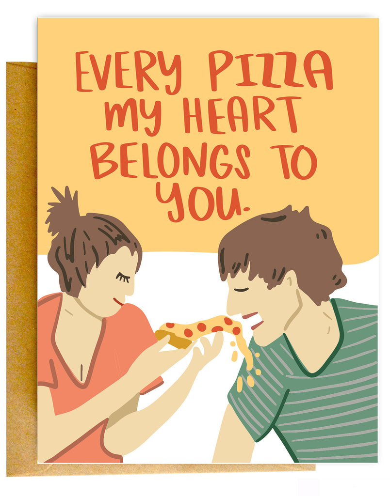 Pizza Belongs To You Card