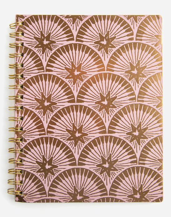 Starlight Wire Bound Notebook