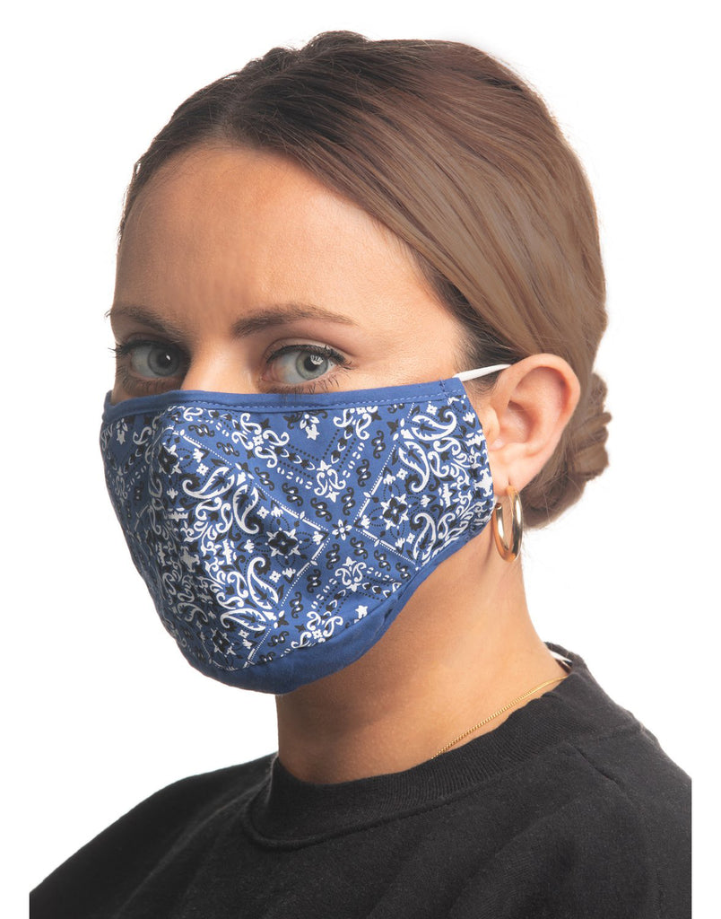 Blue Bandana Mask