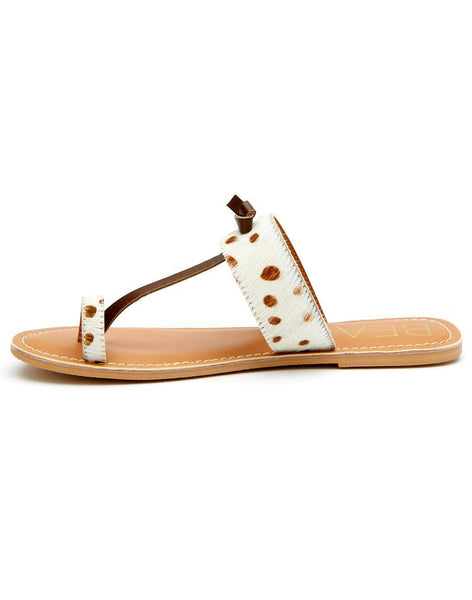 Offshore Ponyhair Sandals