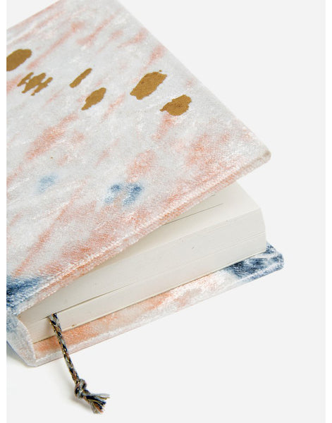 Tie Dye Velvet Journal