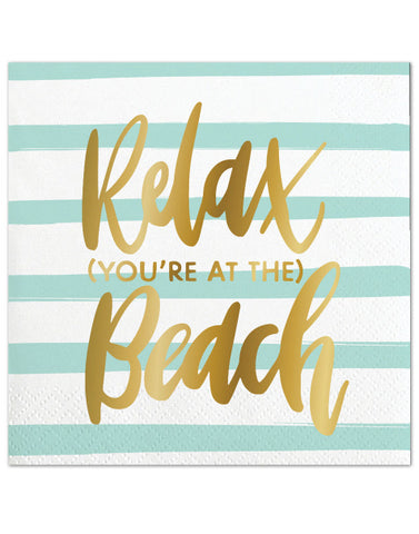 Relax Beach Napkins