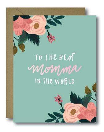 Best Momma Card