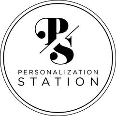Personalization Station Double Circle Logo