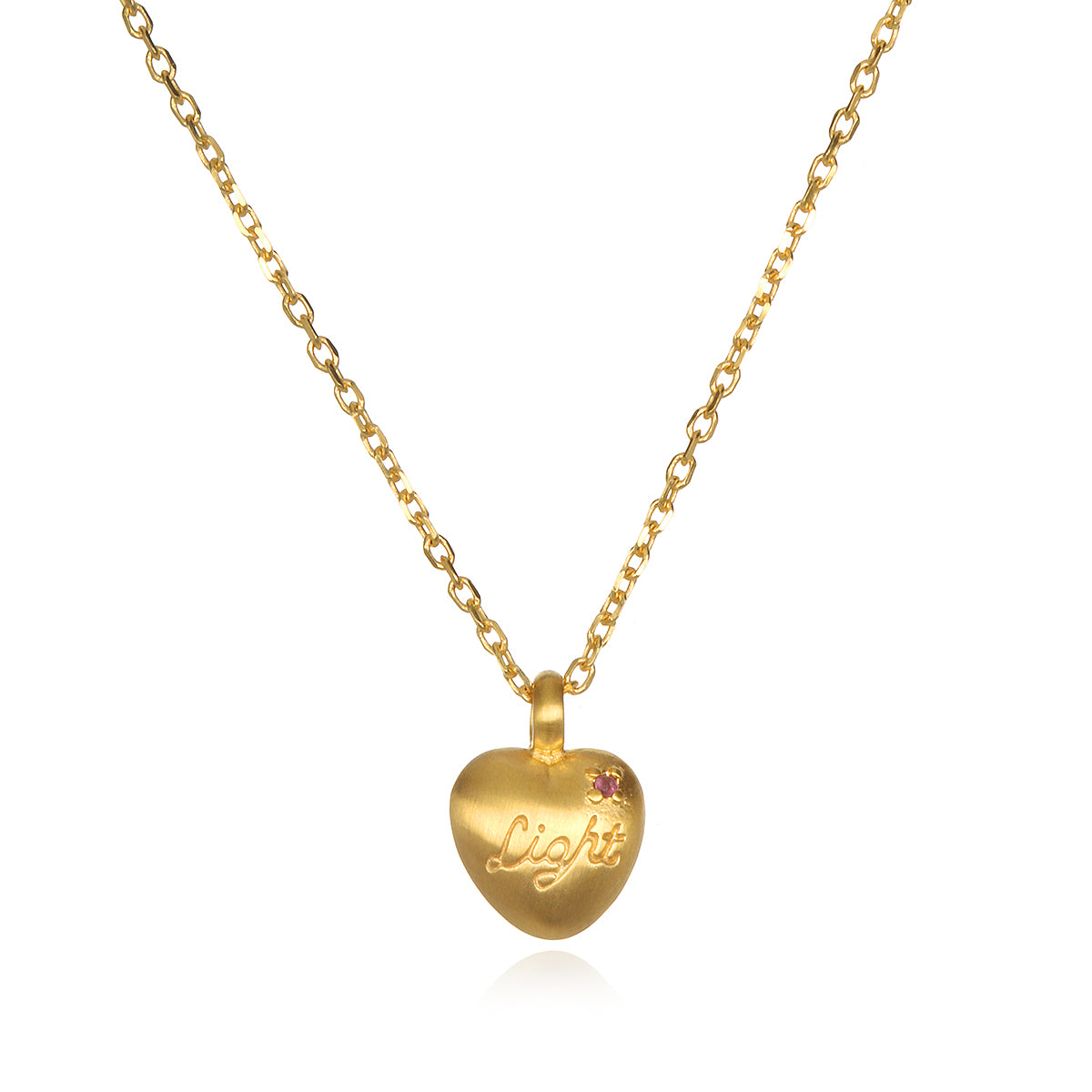 Infinite love and light heart necklace kimberly snyder infinite love and light heart necklace aloadofball Images