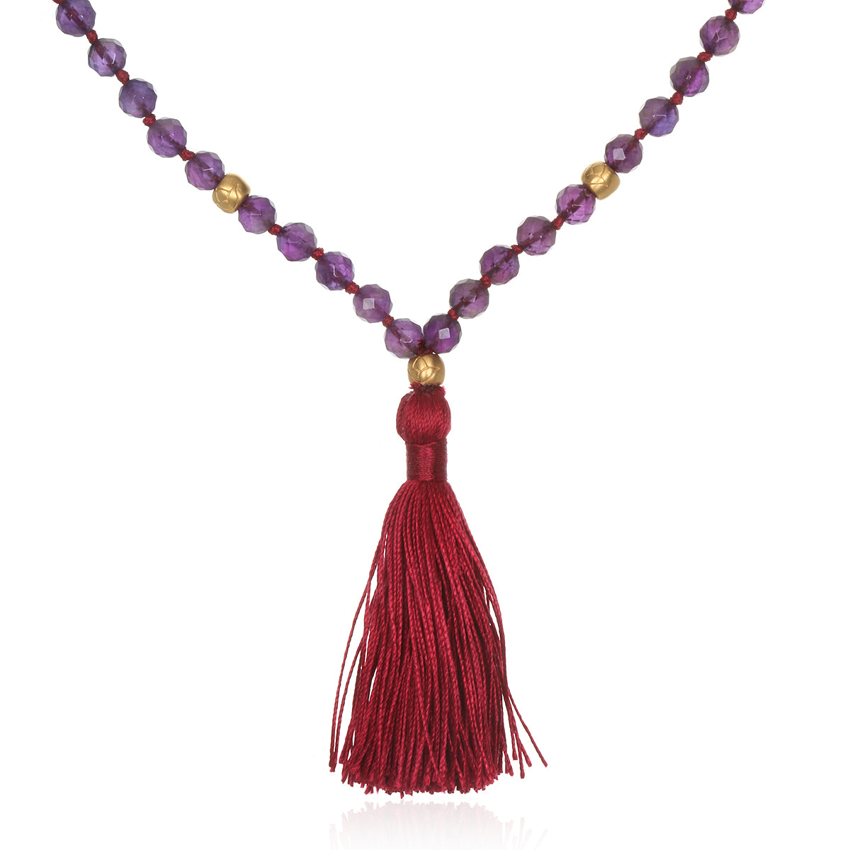 Divine Light Amethyst Mala