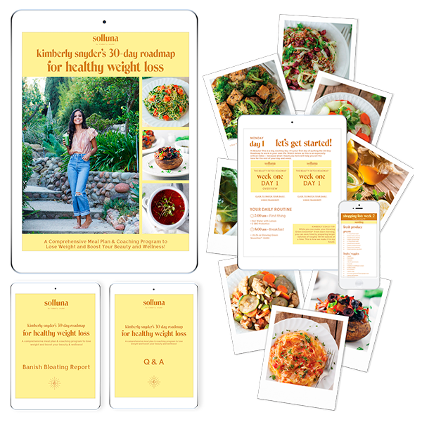 Kimberly Snyder's 30 Day Roadmap for Healthy Weight Loss Course