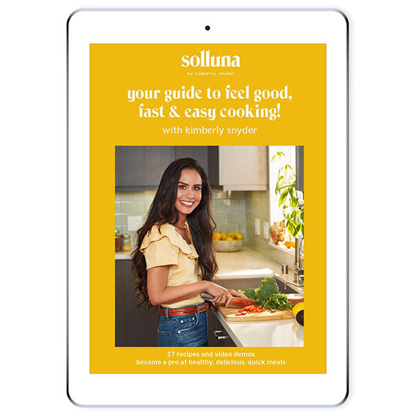 Kimberly Snyder's Cooking Videos Plus Recipes Course Tablet Preview