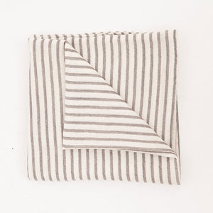 Striped Organic Double Gauze Blanket