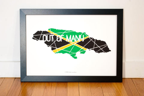 Tallawah Collective - Jamaica: Out of Many One People Art Print