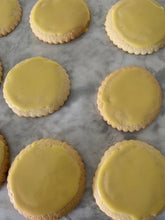 Load image into Gallery viewer, Iced Sugar Cookies - Packs of 12 (Produced by Three Lil' Bakesters Home Kitchen) - Available in SE Wisconsin Only*