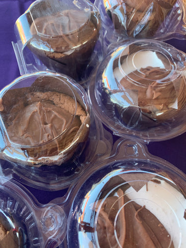 Mississippi Mud Pie Brownies (Produced by Three Lil' Bakesters Home Kitchen) - Available in SE Wisconsin Only