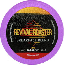 Load image into Gallery viewer, Revival Roaster Breakfast Blend K Cups 96 Count