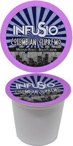 InfuSio Colombian Supremo K Cups 96 Count