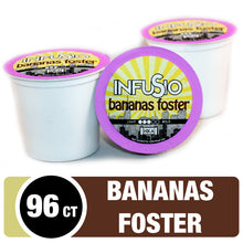 Load image into Gallery viewer, InfuSio Bananas Foster K Cups 96 Count Flavored Coffee Pods