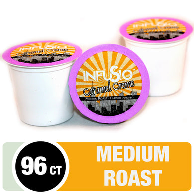 InfuSio Caramel Creme K Cups 96 Count