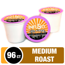 Load image into Gallery viewer, InfuSio City Roast K Cups 96 Count