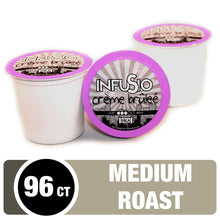 Load image into Gallery viewer, InfuSio Crème Brûlée K Cups 96 Count Flavored Coffee Pods