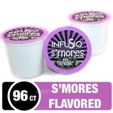 Load image into Gallery viewer, InfuSio S'mores K Cups 96 Count Flavored Coffee Pods