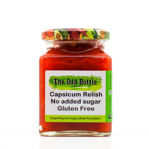 The Odd Bottle Sugar Free 270ml Capsicum Relish - No Added Sugar