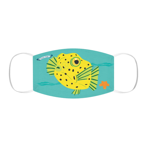 Baby Box Fish Snug-Fit Polyester Face Mask